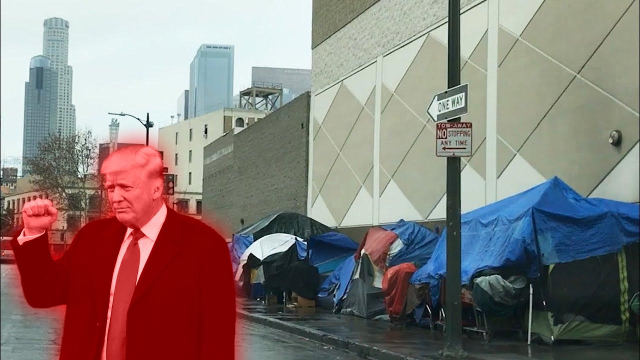 No, half of US homeless aren't in California.